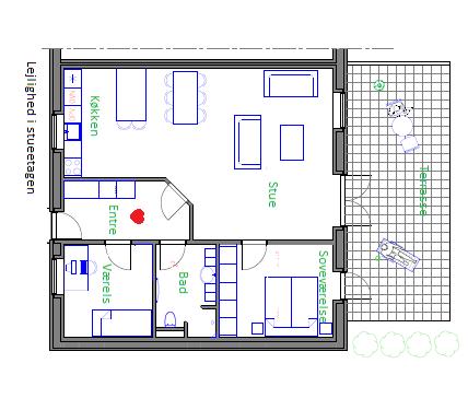 grundplan stueetagen
