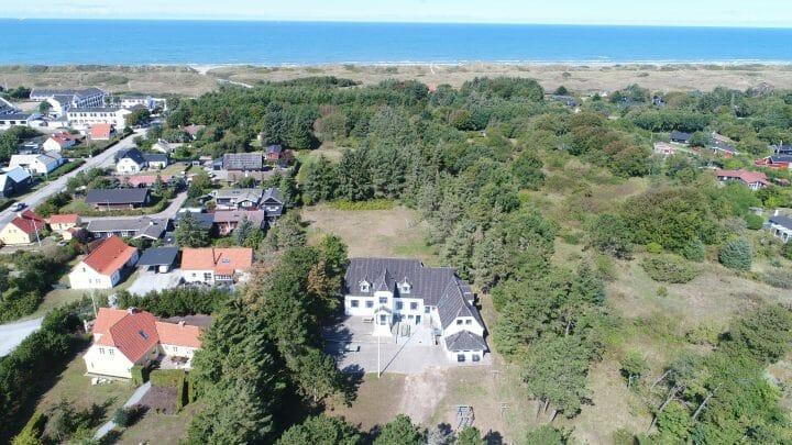 Dronefoto Tversted